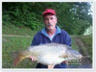 Balogh István mintegy 7 kg-os 62 cm hosszú tőpontya C&R 2015.06.01